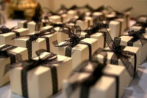 picture of many wrapped gifts