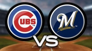 team icons for cubs vs. brewers night game with tailgate party, Thursday, July 30th