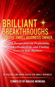 Cover Photo of Brilliant Breakthroughs for the Small Business Owner, Volume 3 #BrilliantBizBook